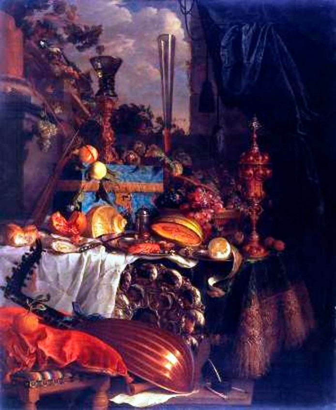 Het pronkstilleven van Davidsz. Heem dat vanuit het centraal Museum in Utrecht terug moet naar de erven Jacob Lierens.