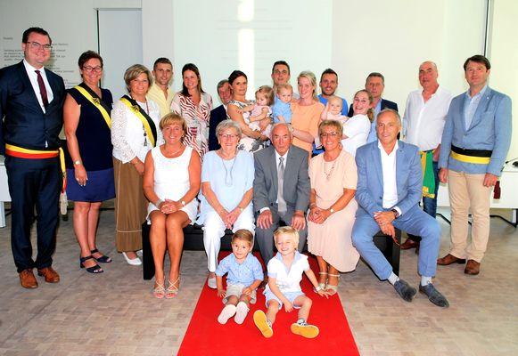 André Detailleur en Fernanda Michels vierden hun 65ste huwelijksjubileum.