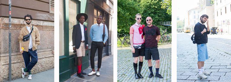 Streetstyle: de mannensok in het wild. Beeld Angela de Vlaming