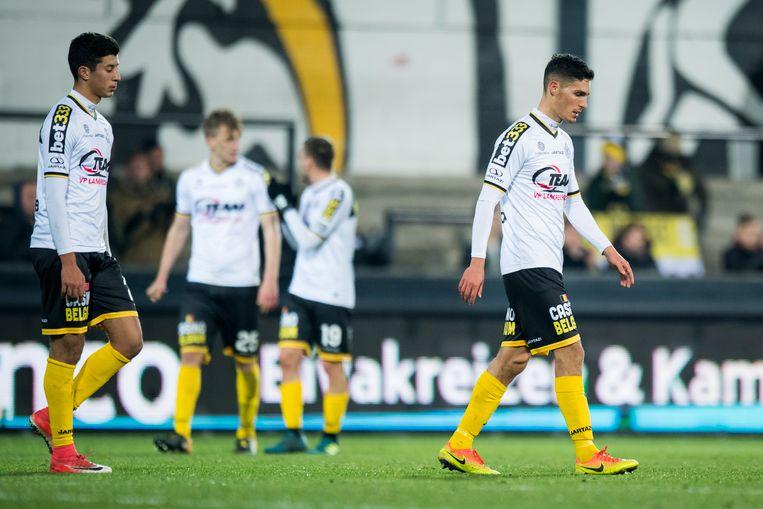 Lokeren ging zondag met 0-3 de boot in tegen de buren van Gent.