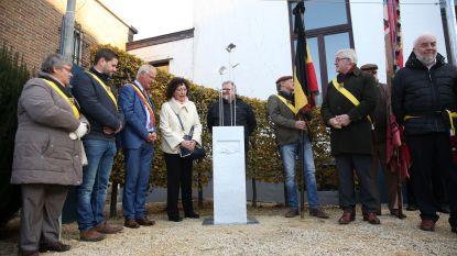 Gemeentebestuur onthult nieuw gedenkteken als afsluiter van herdenking WOI