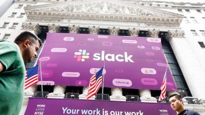 Slack zet eerste stappen op de beurs, in navolging van andere techbedrijven