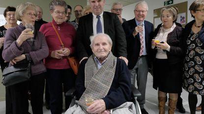 Albert (102) gevierd als tweede oudste Mechelaar