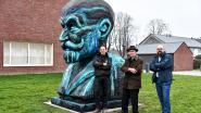 Kop Franz Courtens verplaatst naar De Volkswoningen