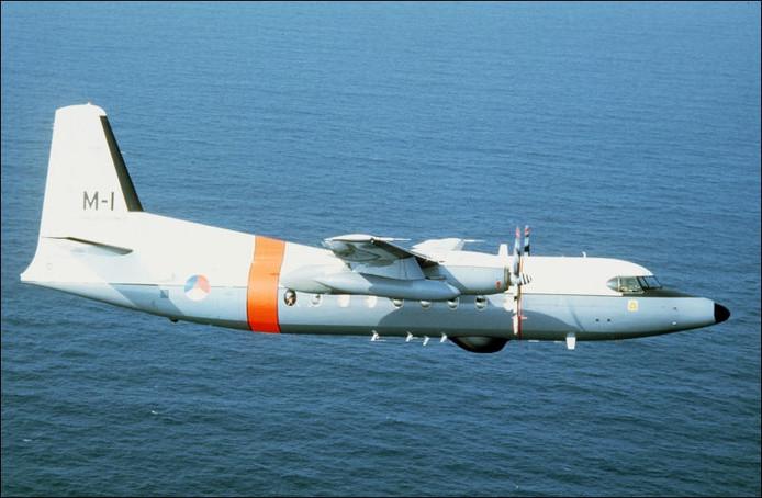 Fokker F27 Maritime. Foto ter illustratie.