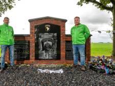 Monument bij Schoonderlogt in Elst, op de 'heilige grond' van Easy Company