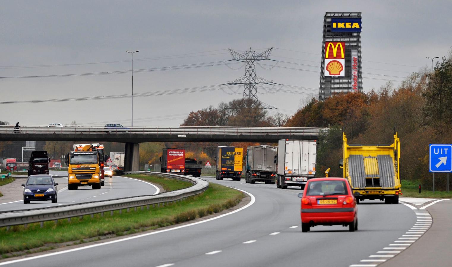 Verlaging van de maximum snelheid moet leiden tot vermindering van de uitstoot van stikstof.
