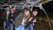 Veel griezelplezier tijdens grote halloweenwandeling