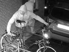Politie geeft beelden vrij van fietsendieven