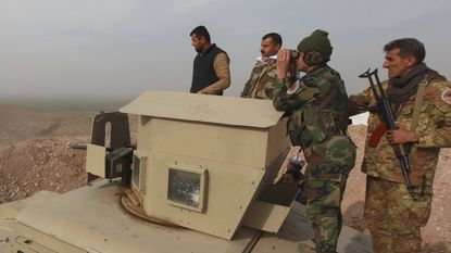 Internationale coalitie bombardeert IS in Mosoel