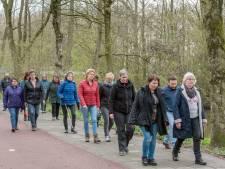 Elke dag tienduizend stappen is de uitdaging voor lopers van FysioTotaal in Harderwijk