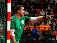 Zaalvoetballers FC Eindhoven lange tijd zonder uitgeschakelde doelman Grimmelius
