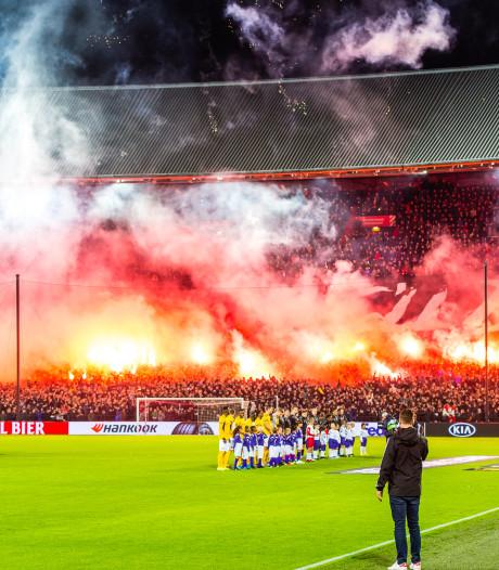 Feyenoord krijgt wéér voorwaardelijke straf na ongeregeldheden in Europa League