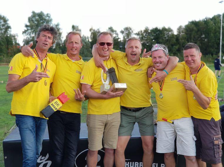 De Kubboys mochten zich voor het tweede jaar op rij tot kampioen kronen.