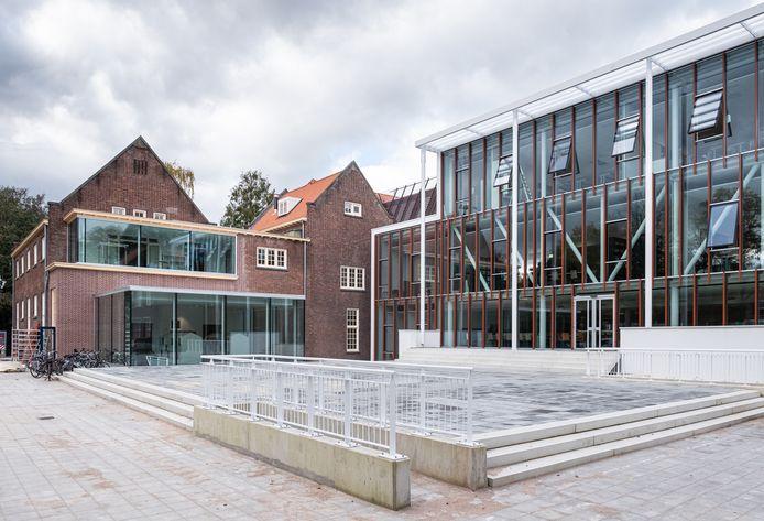 Het gymnasium Johan van Oldenbarnevelt in Amersfoort.