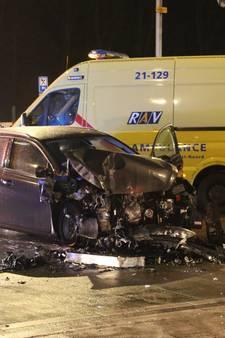 Gewonde bij ongeluk met auto en hijskraan in Cuijk