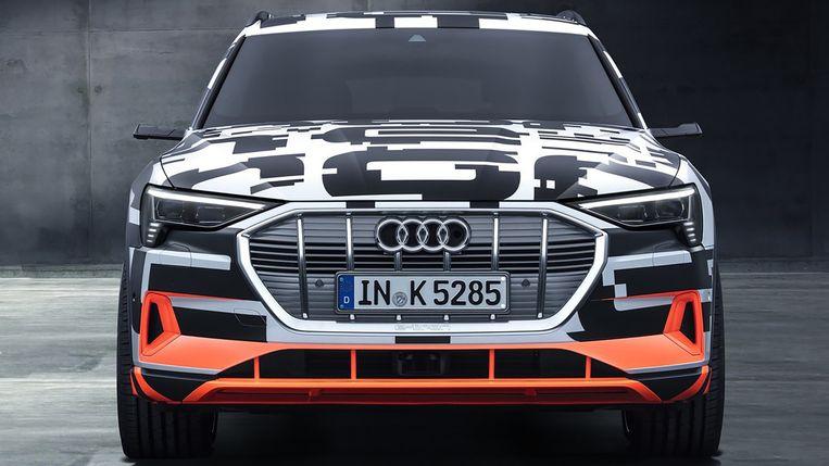 De Audi e-tron krijgt 'virtuele buitenspiegels'.