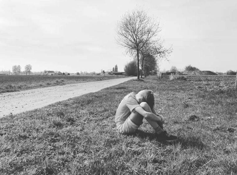Anne Lauwers maakte deze foto van haar zoontje Sander.