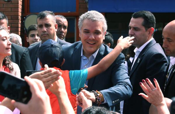 **Colombia kiest conservatieve Duque als nieuwe president**