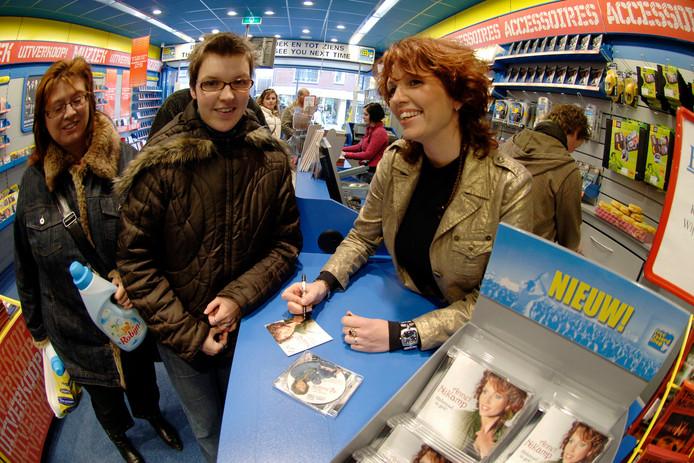 2008: Een signeersessie bij de Free Record Shop in Nijverdal