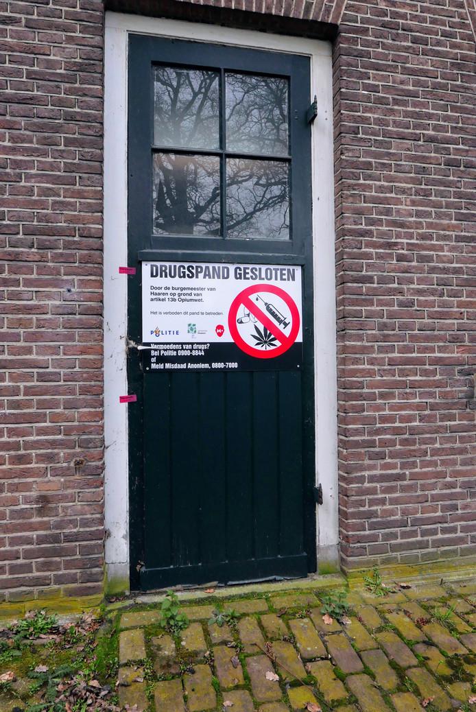 Een deel van Haarendael is een half jaar gesloten geweest door politie en gemeente omdat er een drugslab werd aangetroffen.