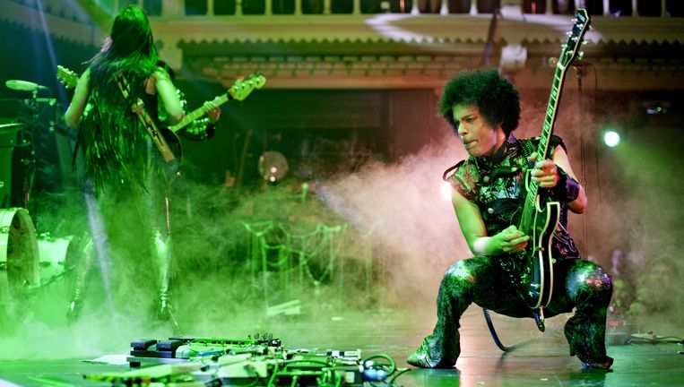 Prince in de Paradiso in Amsterdam vorig jaar.