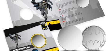 Nieuw: munt waarmee je Batmanlogo op muur kan projecteren