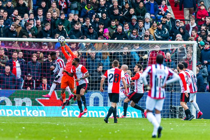 Willem II verloor met 2-0 van Feyenoord.