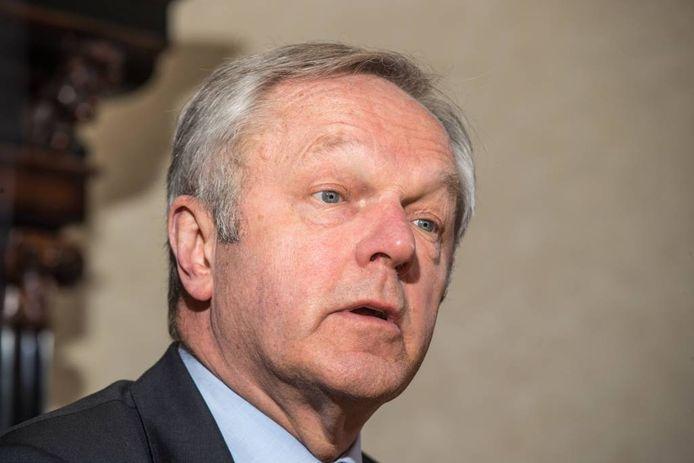 De Zwolse burgemeester Henk Jan Meijer.