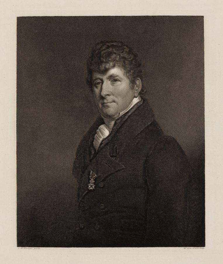 Gerardus Vrolik (1775-1859), hoogleraar aan het Athenaeum Illustre te Amsterdam Beeld Hodges, C.H. (Charles Howard),  Senus, W. van / collectie stadsarchief Amsterdam