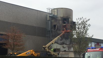 Afzuiginstallatie vernield bij brand