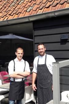 Alex Mathieu en Johan van Es pikken oude tijden weer op in Petits Saveurs in Etten-Leur