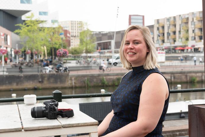 Evelyne de Jong is een van de bloggers die Amersfoort voor het voetlicht brengen.