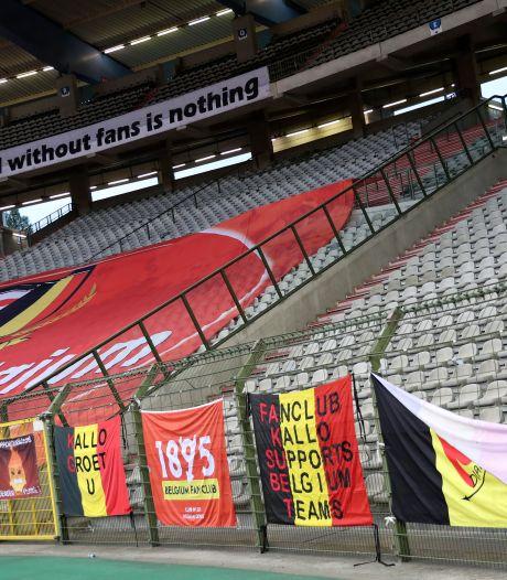 Belgique/Côte d'Ivoire se jouera en présence de supporters