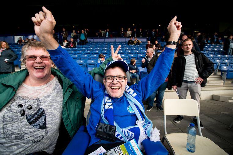 Fans van De Graafschap. Beeld PRO SHOTS