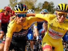 Roglic trots ondanks tweede plaats: 'Alles gegeven, maar beste heeft gewonnen'