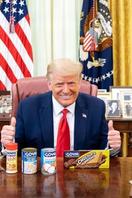 L'Amérique consternée par cette photo postée par Donald Trump sur Instagram