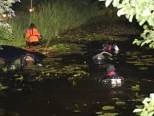 Licht uit door auto te water in Zoetermeer, bestuurder aangehouden