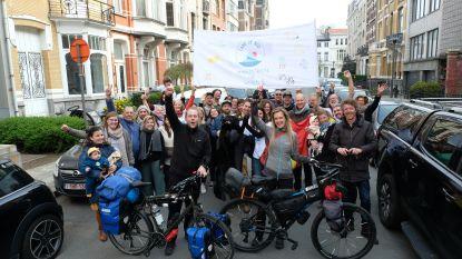 """Berchems koppel maakt wereldreis met fiets: """"We wilden wat meer tijd voor elkaar maken"""""""