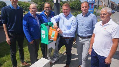 """AED-toestel bij Zandvoordebrug: """"Samen met Rode Kruis Verder bouwen aan een hartveilige stad"""""""