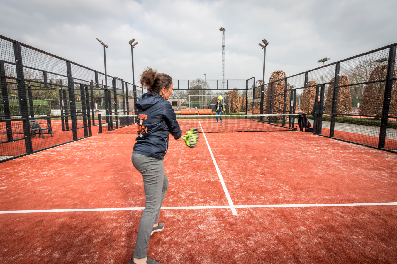 Padel is een sport in opkomst.