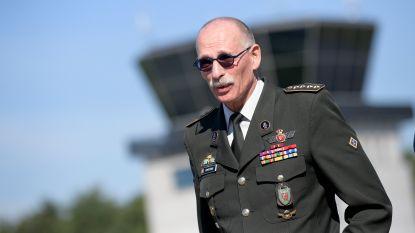 Legerchef Marc Compernol verlaat het leger: regering heeft drie opvolgers op het oog