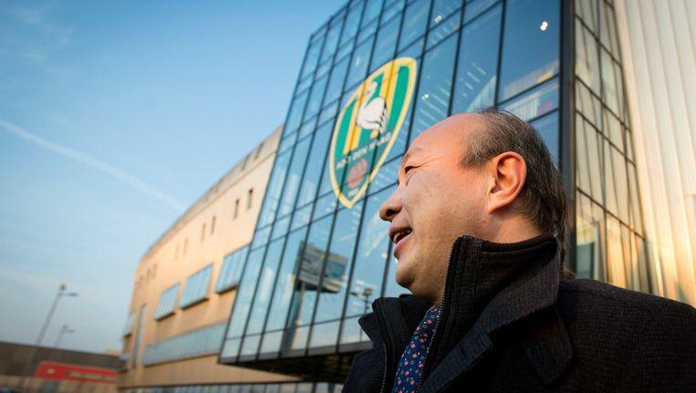 Hui Wang, eigenaar van ADO Den Haag Beeld anp