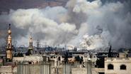 """""""Zeker 39 doden bij dubbele zelfmoordaanslag in Damascus"""""""