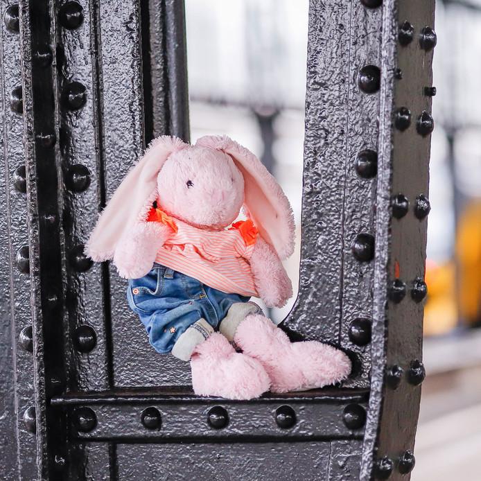 Cor, kort voor Corine, is gevonden op het NS-station van Gouda