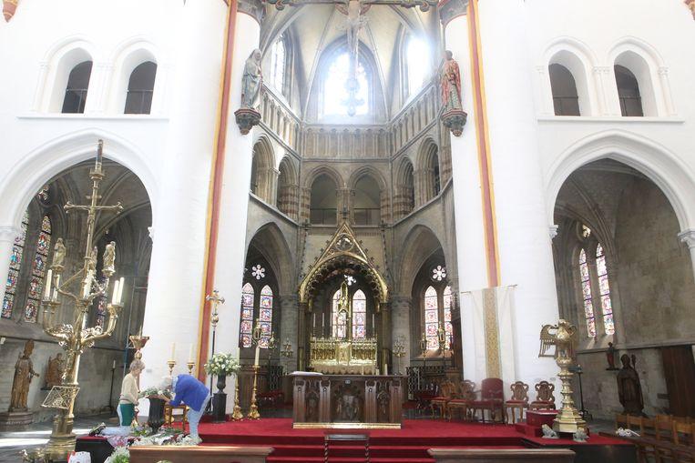 In de Sint-Leonarduskerk wordt alles in gereedheid gebracht om vrijdag officieel de deuren te openen.