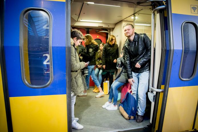 Foto ter illustratie. Met een daling van 18 procent is Dordrecht Zuid de 'grootste daler' van alle NS-stations.