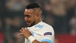 Marseille-draaischijf Payet in tranen nadat hij al vroeg strijd moest staken