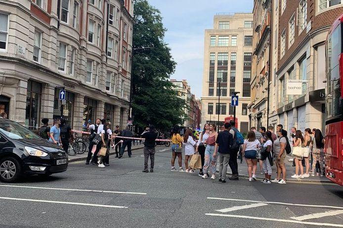 Steekpartij in Londen.