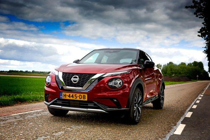 De nieuwe Nissan Juke biedt meer ruimte. Hij is wel rumoerig bij het rijden.